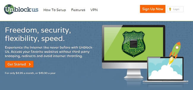 home page unblockus