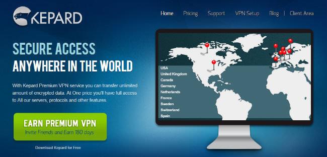 kepard-homepage
