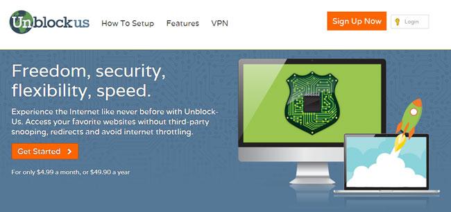 Unblockus Homepage
