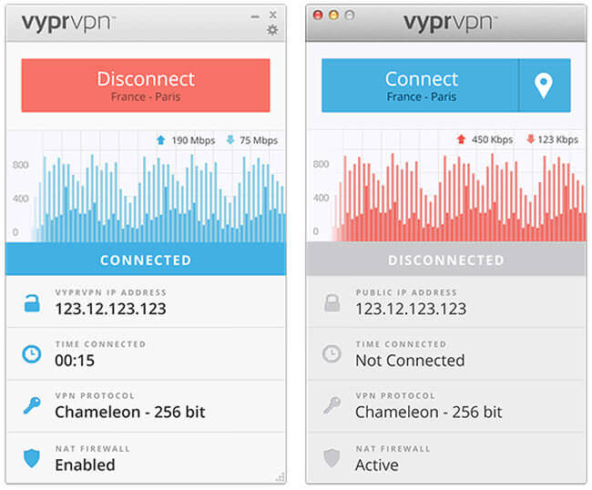 vypr vpn interface