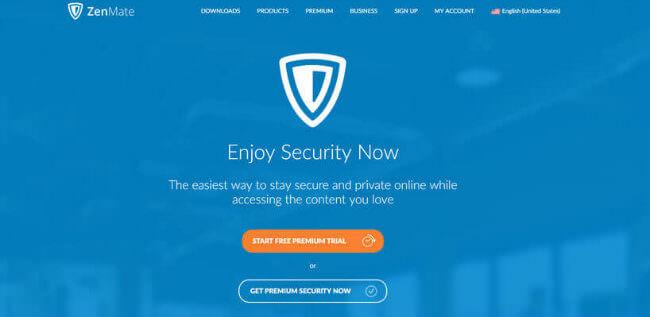 zenmate-homepage