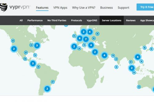 vypr servers feature