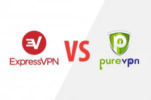 Express VPN VS Pure VPN