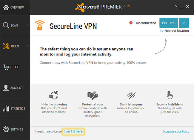 avast secureline vpn review 2017