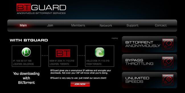 BTGuard Homepage