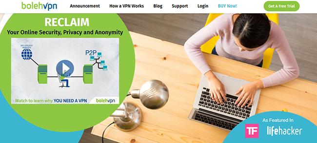 BolehVPN Homepage