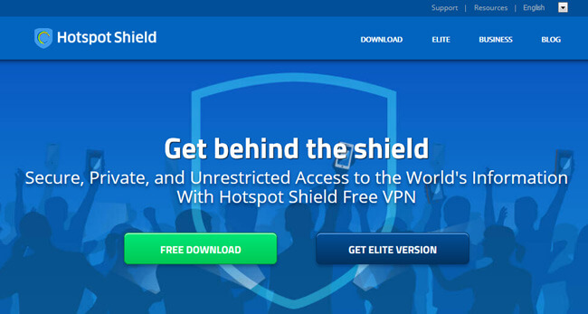download new version vpn hotspot shield for android