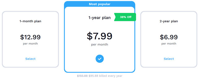 Hotspot Shield price option