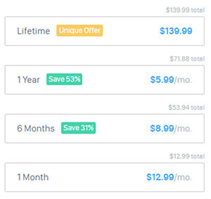 HotspotShield Pricing