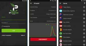 IPVanish Android app