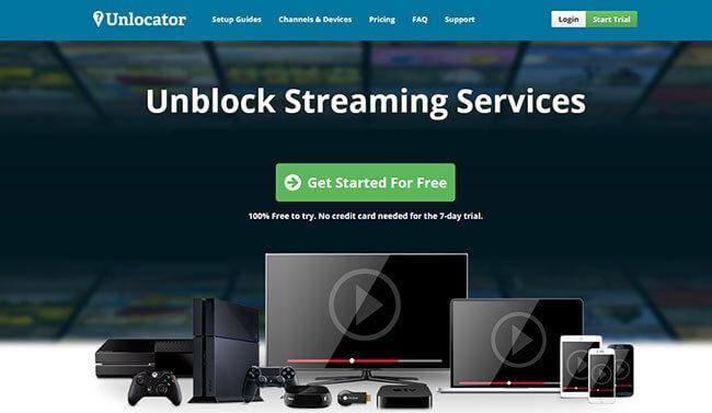 Unlocator Homepage