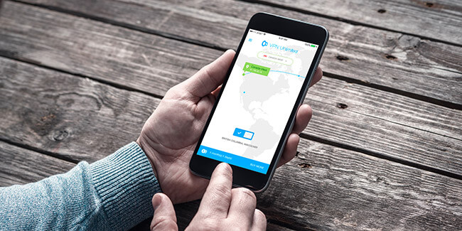 VPN Unlimited interface