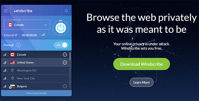 Windscribe VPN For Everyone