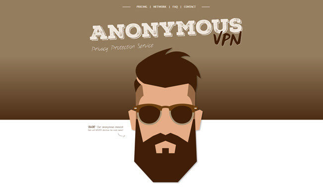 anonymousvpn homepage
