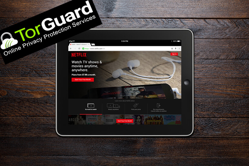 Does TorGuard Work With Netflix? - August 2019