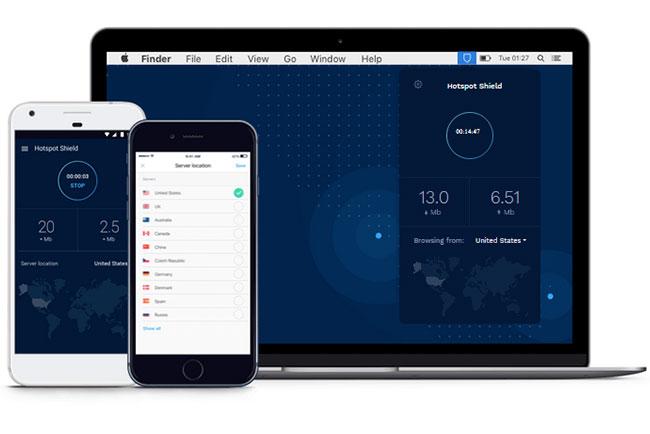 Hotspot Shield App
