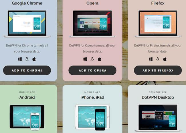 DotVPN Multi Platform