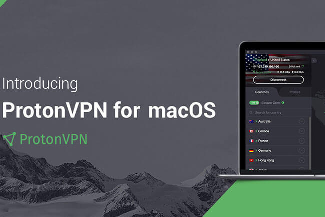 ProtonVPN Just Launched A Free VPN App For Mac