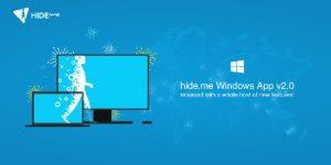 hide.me Windows App 2.0