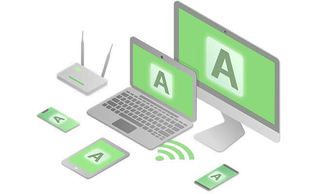 Anonine VPN multiplatform for all device