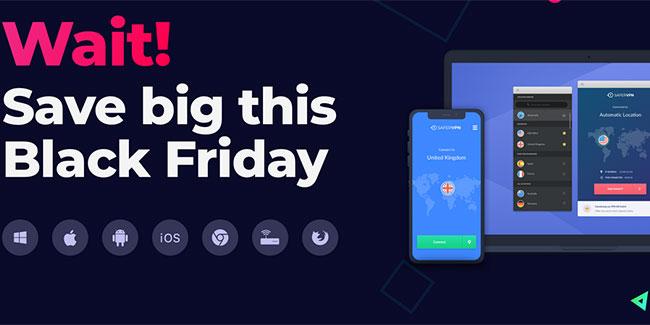 SaferVPN Black Friday 2019 offer