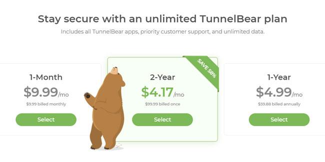 Tunnelbear Black Friday