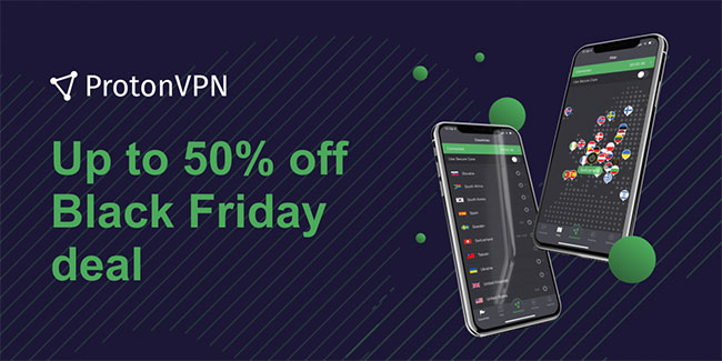 ProtonVPN Black Friday 2019 offer